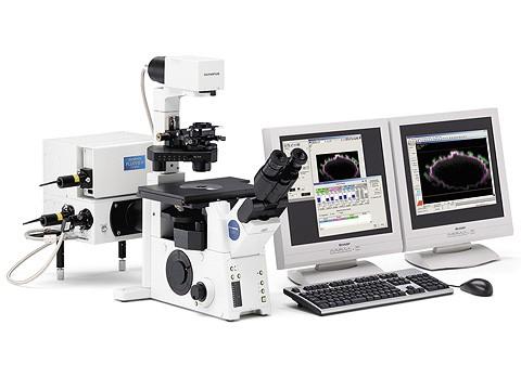 雙掃描式光譜式雷射共軛焦顯微鏡(Olympus)